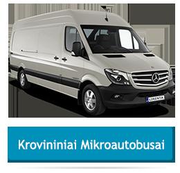 krovininiu mikroautobusu nuoma